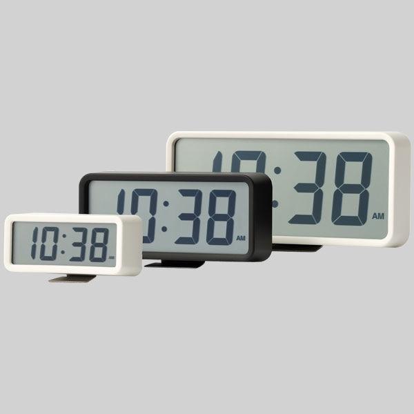 デジタル時計・中(アラーム機能付)