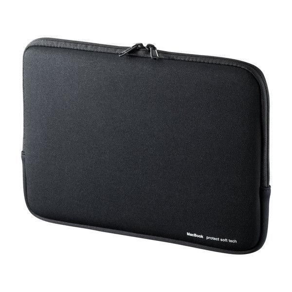 サンワサプライ MacBookプロテクトスーツ(MacBook Pro 13.3インチ対応) ブラック IN-MACPR1301BK 1個 (直送品)