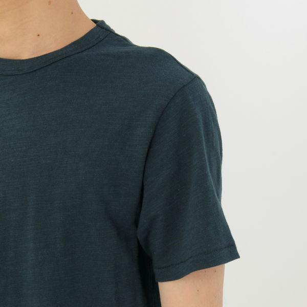 無印 ムラ糸半袖Tシャツ 紳士 L