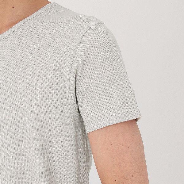 無印 涼感メッシュ半袖Tシャツ 紳士 M