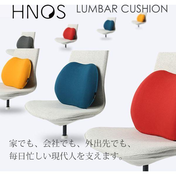 HNOS(ヘイノス) ランバーシートクッション グレー 12-450G(直送品)