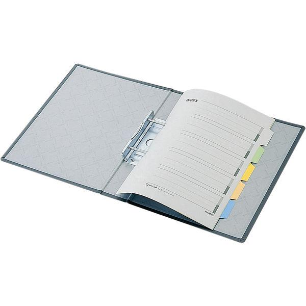 キングファイルG GXシリーズ A4タテ とじ厚80mm背幅96mm グレー キングジム 片開きパイプファイル 978GXクレ 3冊