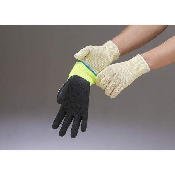 ショーワグローブ ケミスターワイヤーフィットLサイズ 黄 NO521-L