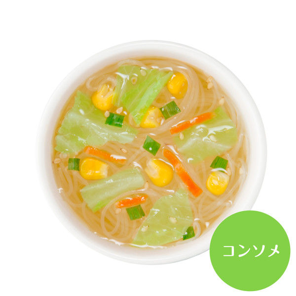 ひかり味噌 選べるスープ春雨減塩 10食