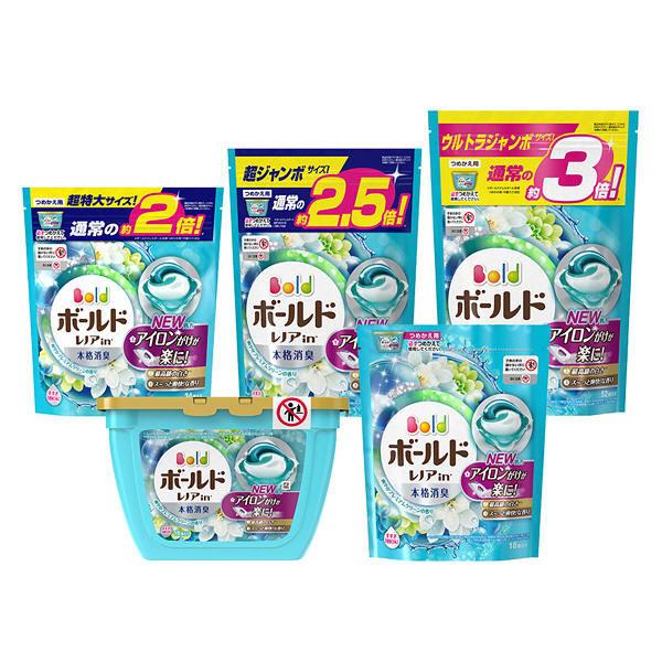 ボールドジェルボール3D超特大替×8
