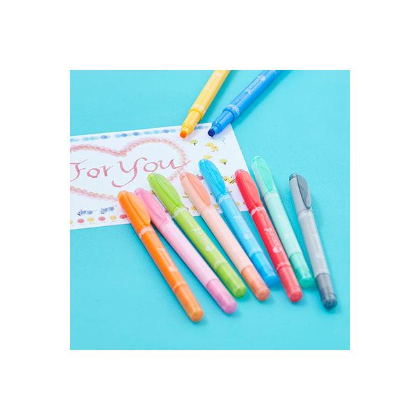 水性ペン プレイカラードット 12色入