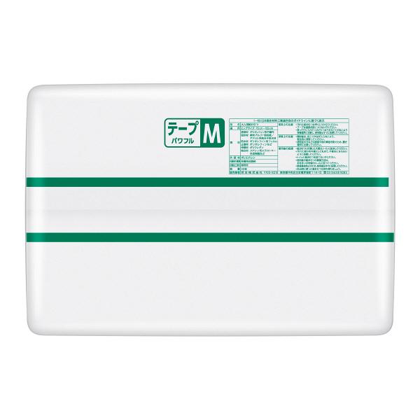 リリーフ 病院施設用 パワフルテープ止め M 1箱(60枚:30枚×2パック) 業務用 大人用紙おむつ 花王