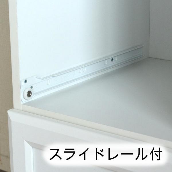 白井産業 台所回りの家電や小物をひとまとめに収納出来るミニストッカー 1台 (直送品)