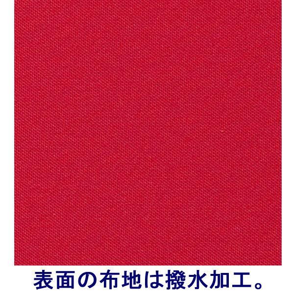 布貼りリングファイル 30穴 A4タテ 背幅34mm 3冊 アスクル レッド