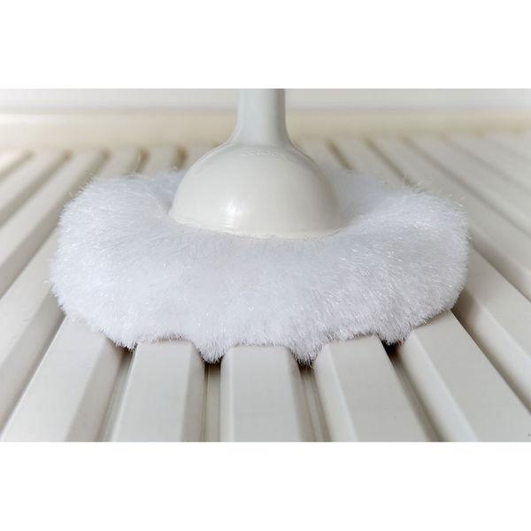 バスボンくんお風呂用ブラシ白+スクイジー