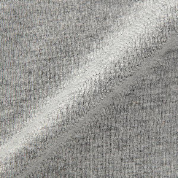 無印 V首 長袖Tシャツ 紳士L グレー