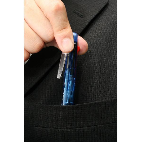 ゼブラ クリップーオンマルチ500 青軸 B4SA1-BL 1箱(10本入)