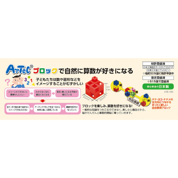 アーテック Artecブロック パーフェクトマスセット 77860 (直送品)