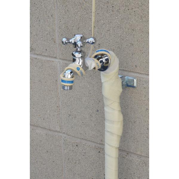 これカモ 凍結防止ヒーター 3m サーモスタットつき (水道管の凍結防止 金属管用) GA-KE012 (直送品)