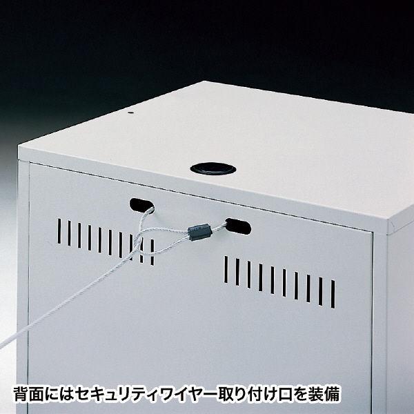 サンワサプライ ノートパソコン収納キャビネット 幅500×奥行420×高さ478mm CAI-CAB3 1台 (直送品)