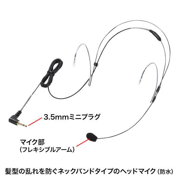 サンワサプライ 防水ハンズフリー拡声器スピーカー MM-SPAMP6 (直送品)