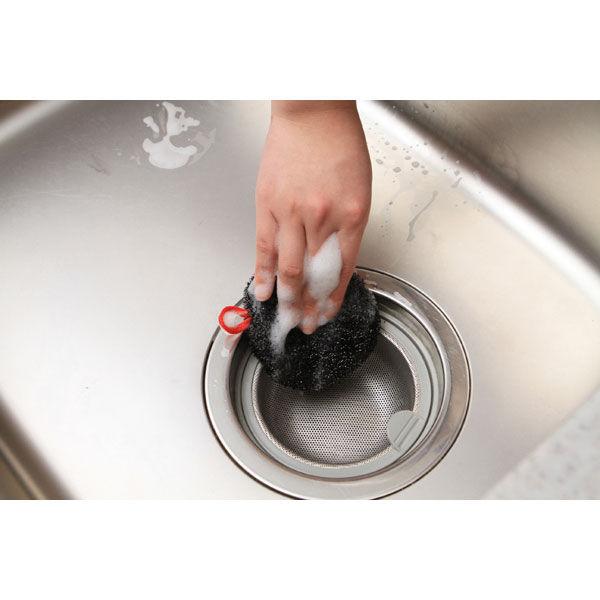シンク洗いタワシ 排水口・三角コーナー