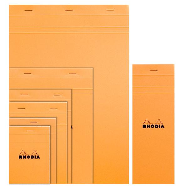 ロディア NO.13 方眼 オレンジ