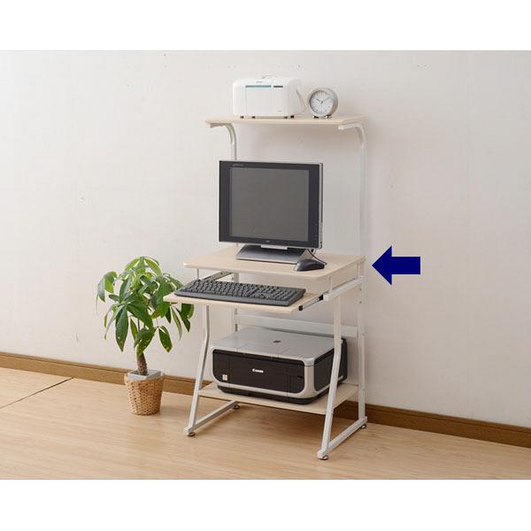 パソコンデスク 幅600mm ハイタイプ