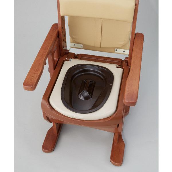 アロン化成 安寿 家具調トイレセレクトR ノーマル ソフト・快適脱臭 533-854 (直送品)