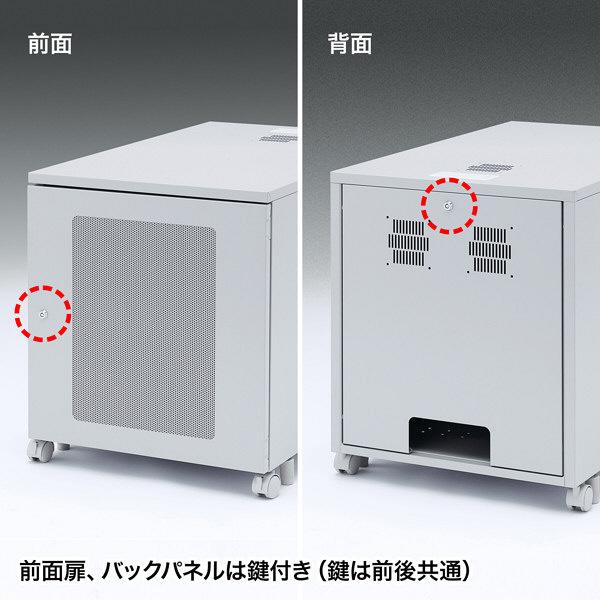 サンワサプライ 19インチマウントボックス(H700・13U) W600×D900×H700mm CP-202 1台 (直送品)