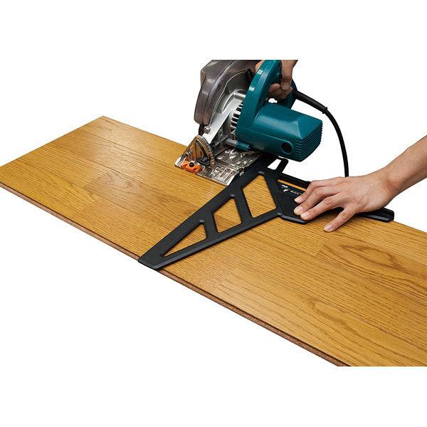 シンワ測定 丸ノコガイド定規 エルアングル フィット 30cm 78052 1セット(4個) (直送品)
