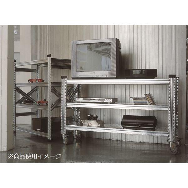 アスプルンド METALSISTEM(メタルシステム)3段 幅980×奥行415×高さ665mm 1台 (直送品)