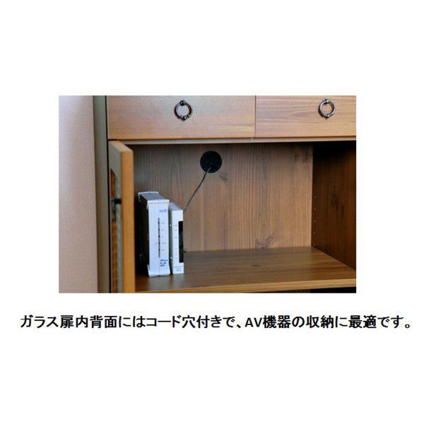 佐藤産業 ビストロ キャビネット 幅580mm×高さ900mm ブラウン BTC90-60_2HG_LBR 1台 (直送品)