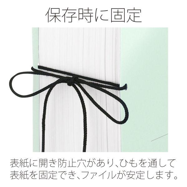 プラス セノバスエコノミーつづりひもA5E BL 88455 (直送品)
