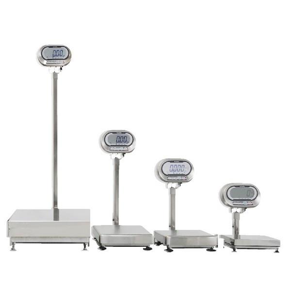 クボタ計装 防水防塵デジタル台はかり150kg用(検定品) KL-IP-K150A(地区16) (直送品)