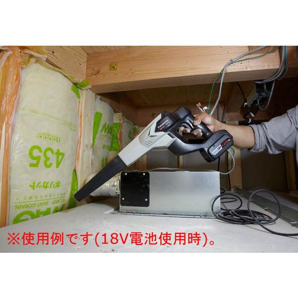 Panasonic(パナソニック) 工事用充電ブロワ(14.4V/18V両用) グレー EZ37A1 (直送品)