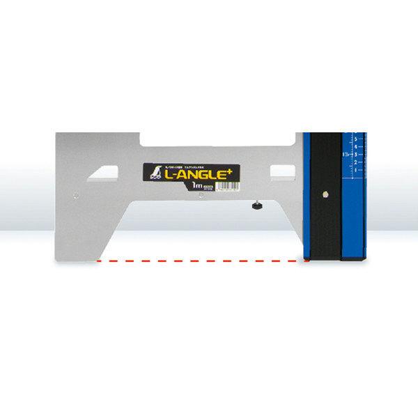 シンワ測定 丸ノコガイド定規 エルアングル Plus 60cm 併用目盛 73151 1セット(2個) (直送品)
