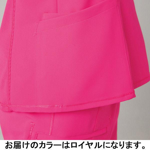 フォーク CHEROKEE(チェロキー) 医療白衣 スクラブ CH752 ロイヤル M 1枚 (直送品)