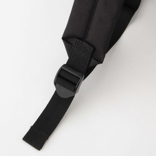 無印 PCポケット付リュック 黒