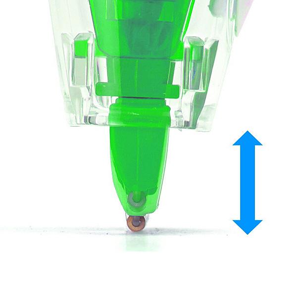 プラス 修正テープ ホワイパーラッシュ 交換テープ 4.2mm幅×6m グリーン WH-064R 43446 1箱(10個入)