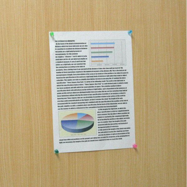 ハピラ ダルマ画鋲 クリアカラー S4113 1セット(約180個:約60個入×3ケース)