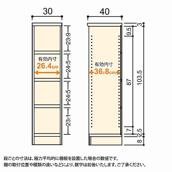 大洋 Shelfit(シェルフィット) エースラック/カラーラックM タフタイプ 幅300×奥行400×高さ1170mm ダークブラウン 1台 (取寄品)