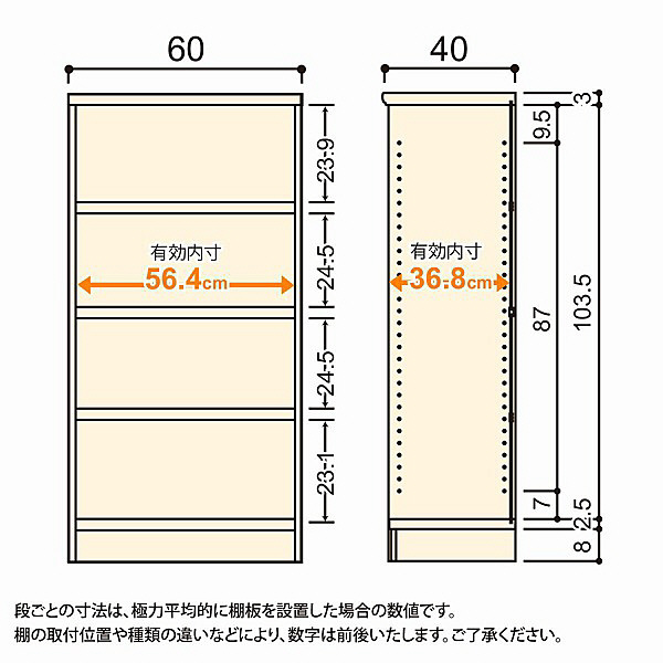 大洋 Shelfit(シェルフィット) エースラック/カラーラックM タフタイプ 幅600×奥行400×高さ1170mm ライトナチュラル 1台 (取寄品)