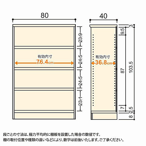大洋 Shelfit(シェルフィット) エースラック/カラーラックM タフタイプ 幅800×奥行400×高さ1170mm ブラウン 1台 (取寄品)