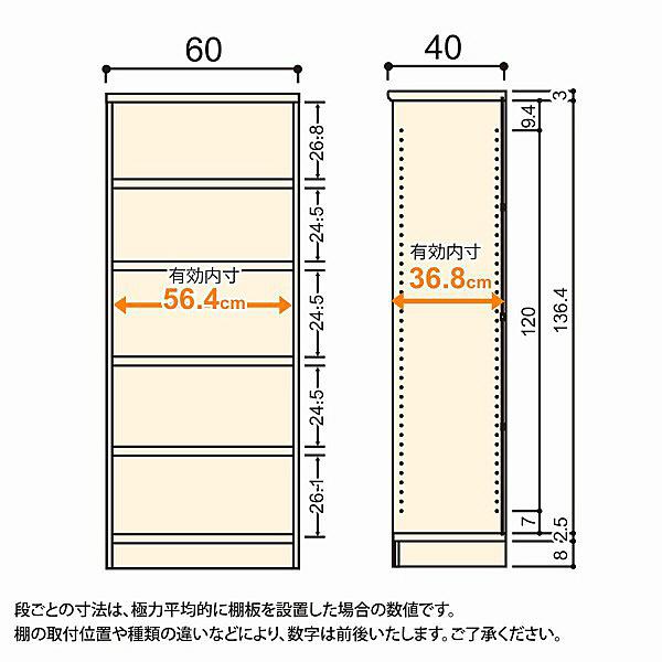 大洋 Shelfit(シェルフィット) エースラック/カラーラックM タフタイプ 幅600×奥行400×高さ1499mm ブラウン 1台 (取寄品)