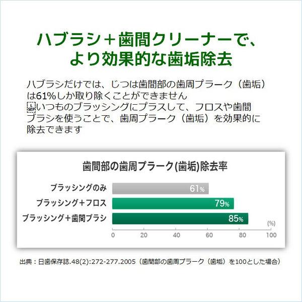 ガム 歯間ブラシ I字型 L
