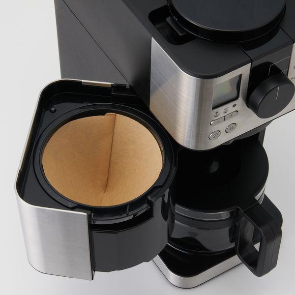 豆から挽けるコーヒーメーカー