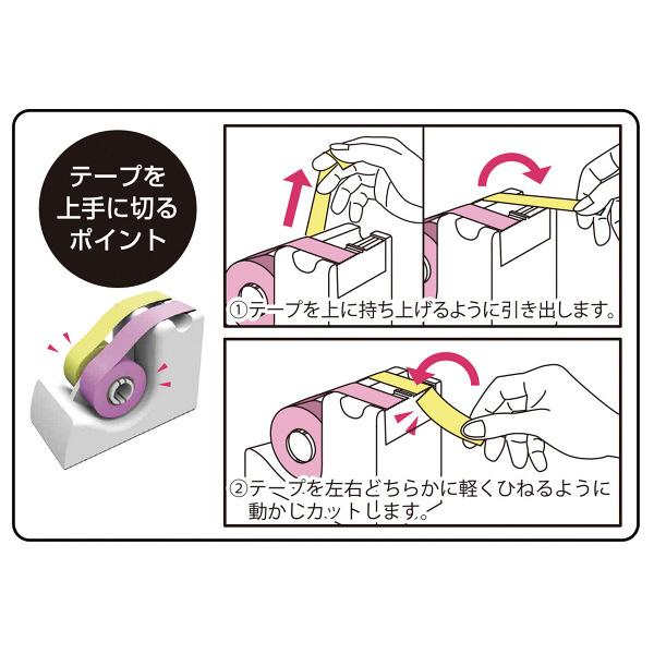 ヤマト テープカッターツインタイプ小巻用 1セット(3台:1台×3)