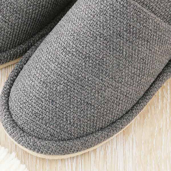 スリッパ外縫いタイプグレーL ロハコ