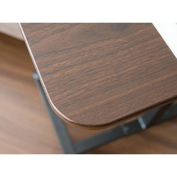 宮武製作所 Cerca(セルカ) 昇降テーブル 幅600×奥行435×高さ920mm ブラウン LT-920 1個(直送品)