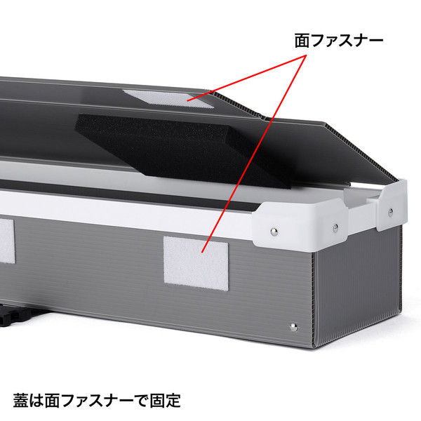 サンワサプライ プラダン製プロジェクタースクリーン収納ケース(100型用) PRS-PD100 (直送品)