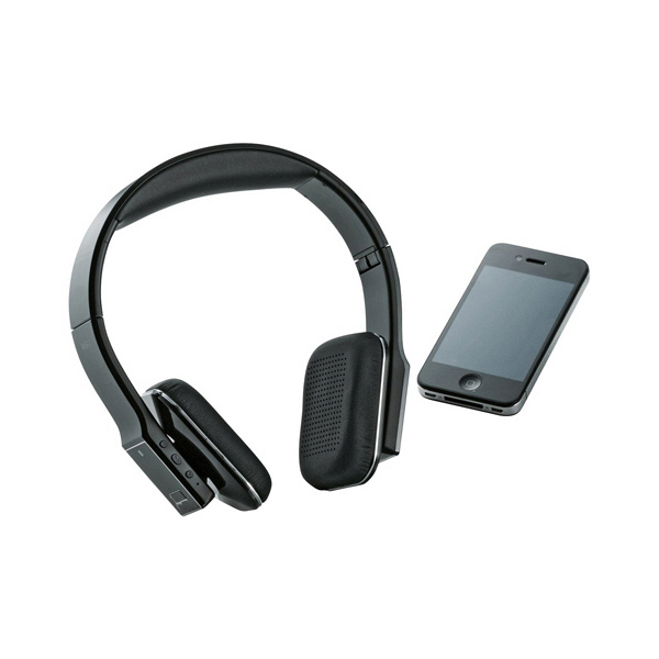 ロジテック Bluetooth ヘッドホン ブラック LBT-AVOH03ABK (直送品)