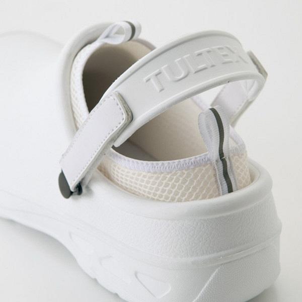 アイトス セーフティサンダル ホワイト 4L AZ-4500-001-4L (直送品)