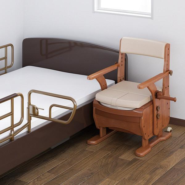 アロン化成 安寿 家具調トイレセレクトR ノーマルワイド 暖房・快適脱臭 1台 533-861 (直送品)