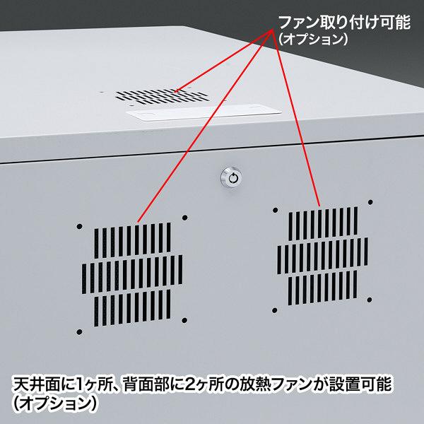 サンワサプライ 19インチマウントボックス(H700・13U) CP-202 (直送品)